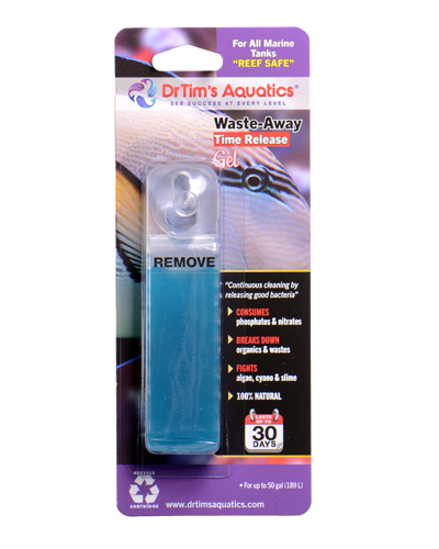 Picture of Dr. Tim's Aquatics Saltwater Waste-Away Time Release Gel - 50 Gal 1 Pack