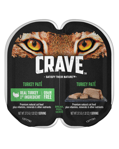 Picture of Crave Grain Free Turkey Pate - 2.6 oz