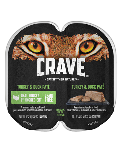 Picture of Crave Grain Free Turkey and Duck Pate - 2.6 oz.