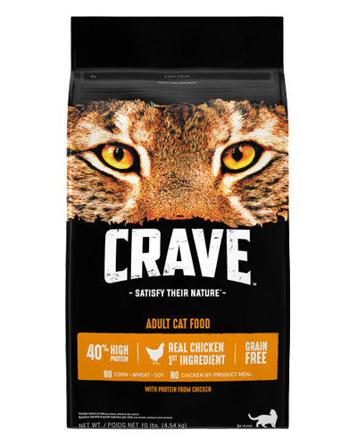 Picture of Crave Grain Free Formula with Chicken - 10 lb.
