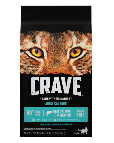 Picture of Crave Grain Free Formula with Salmon and Ocean Fish - 2 lb.