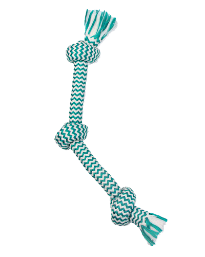 "Picture of Mammoth Pet 20"" Extra Fresh 3 Knot Medium Tug Rope"