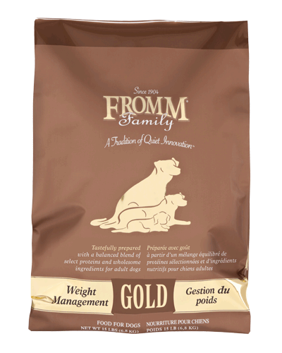 Picture of Fromm Gold Weight Management Formula - 15 lbs