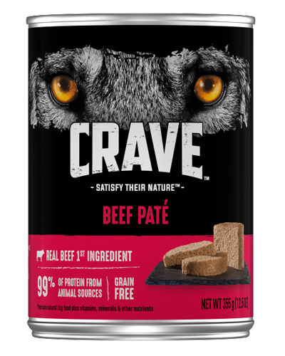 Picture of Crave Grain Free Beef Pate - 12.5 oz.