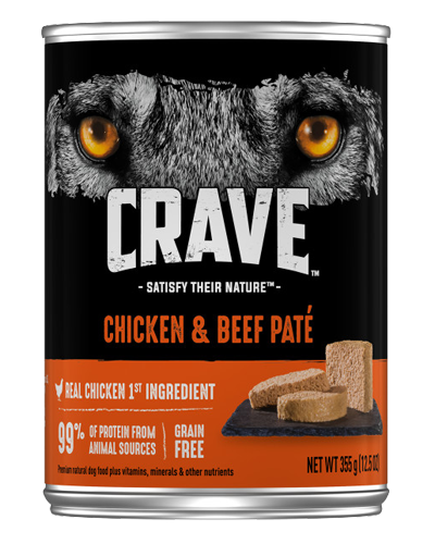 Picture of Crave Grain Free Chicken & Beef Pate - 12.5 oz