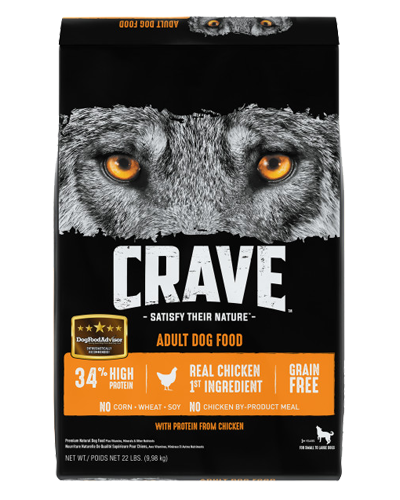 Picture of Crave Grain Free Formula with Chicken - 22 lb.
