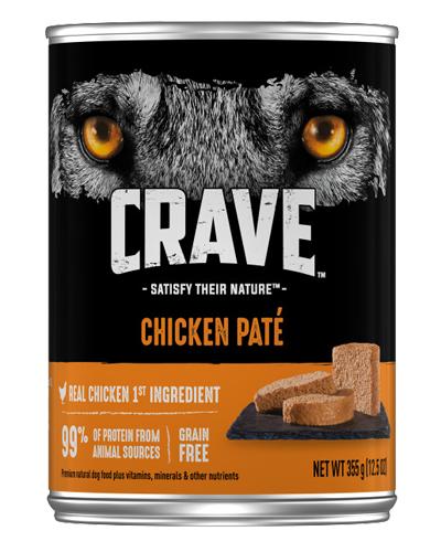 Picture of Crave Grain Free Chicken Pate - 12.5 oz.