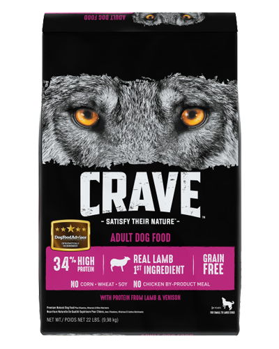 Picture of Crave Grain Free Formula with Lamb & Venison - 22 lb.