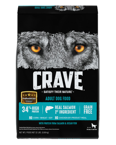 Picture of Crave Grain Free Formula with Salmon & Ocean Fish - 22 lb.