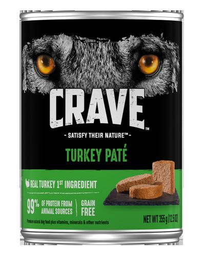 Picture of Crave Grain Free Turkey Pate - 12.5 oz.