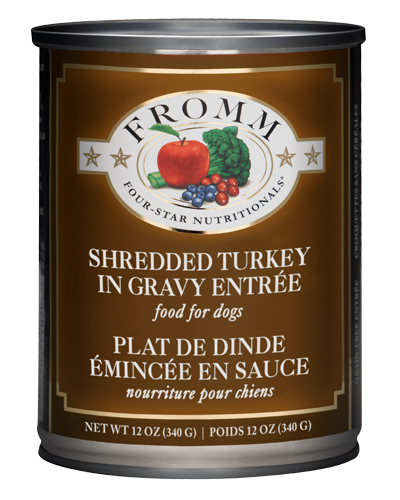 Picture of Fromm Four Star Shredded Turkey in Gravy Entrée - 12 oz