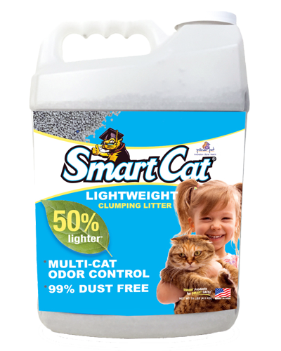 Picture of SmartCat Lightweight Clumping Litter - 10 lb.