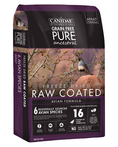 Picture of Canidae Grain Free Pure Ancestral Avian Formula - 9 lb.