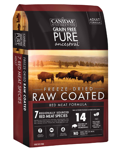 Picture of Canidae Grain Free Pure Ancestral Red Meat - 9 lb.