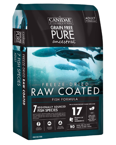 Picture of Canidae Grain Free Ancestral Fish Freeze-Dried Raw Coated - 9 lb.