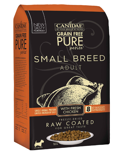 Picture of Canidae Grain Free Pure Petite Small Breed with Chicken - 4 lb.