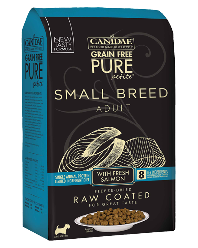 Picture of Canidae Grain Free Pure Petite Small Breed with Salmon - 10 lb.