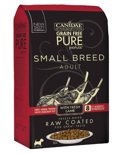Picture of Canidae Grain Free Pure Petite Small Breed With Lamb - 4 lb.