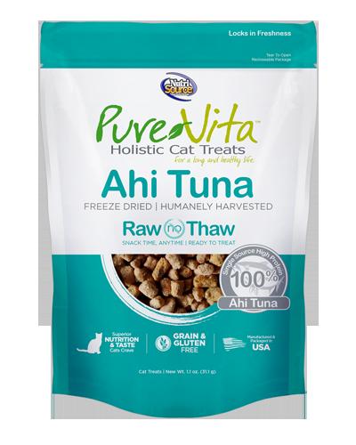 Picture of Nutrisource PureVita Ahi Tuna Freeze Dried Treats - 1.1 oz