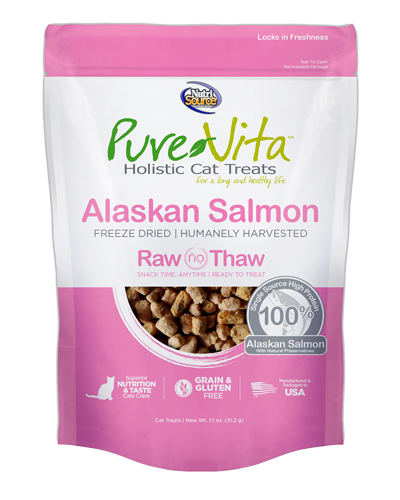 Picture of Nutrisource PureVita Alaskan Salmon Freeze Dried Treats - 1.1 oz
