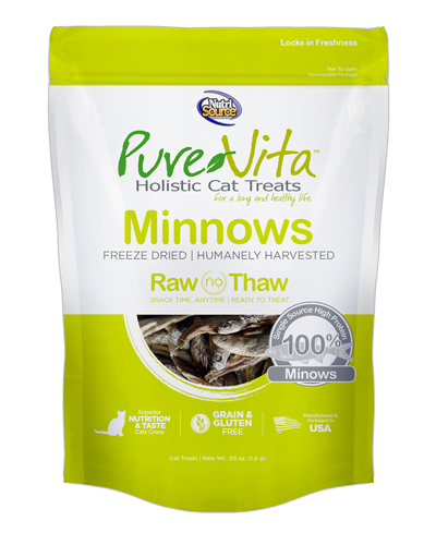 Picture of Nutrisource PureVita Minnow Freeze Dried Treats - 1.1 oz