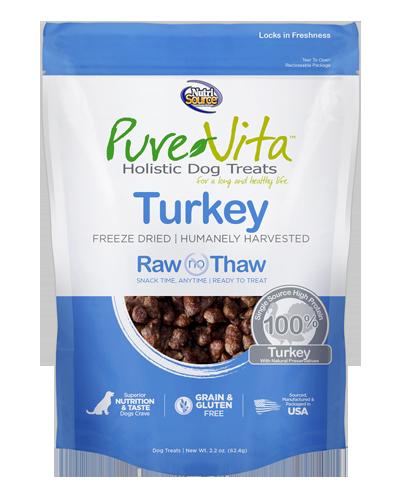 Picture of Nutrisource Pure Vita Freeze Dried Turkey Jerky - 2 oz