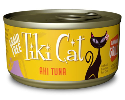 Picture of Tiki Cat Hawaiian Grill Ahi Tuna Formula - 2.8 oz.