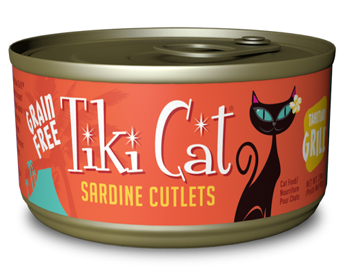 Picture of Tiki Cat Tahitian Grill Sardine Cutlets Formula - 2.8 oz.