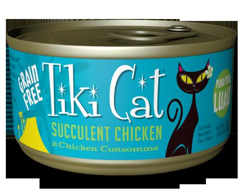 Picture of Tiki Cat Puka Puka Luau Succulent Chicken Formula -  2.8 oz.