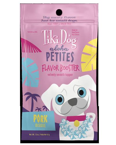 Picture of Tiki Dog Aloha Petites Flavor Booster Pork Bisque Formula - 1.5 oz.