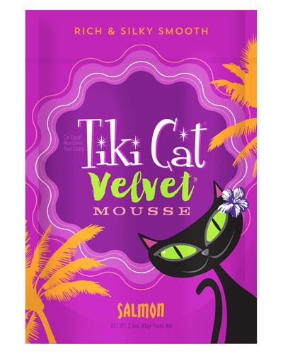 Picture of Tiki Cat Velvet Mousse Wild Salmon - 2.8 oz.