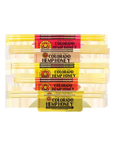 Picture of Colorado Hemp Honey Sticks -Variety Singles