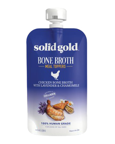 Picture of Solid Gold Grain Free Chicken Bone Broth - 8 oz.