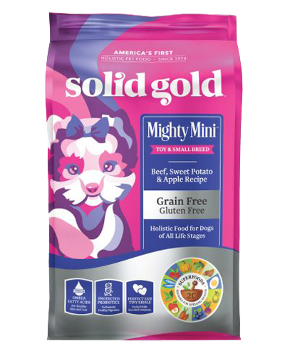 Picture of Solid Gold Grain Free Mighty Mini with Beef - 4 lb