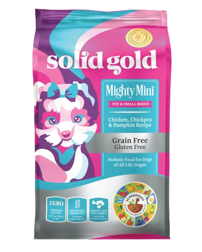 Picture of Solid Gold Grain Free Mighty Mini with Chicken - 11 lb.