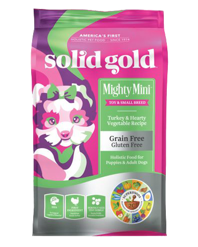 Picture of Solid Gold Grain Free Mighty Mini with Turkey - 4 lb.