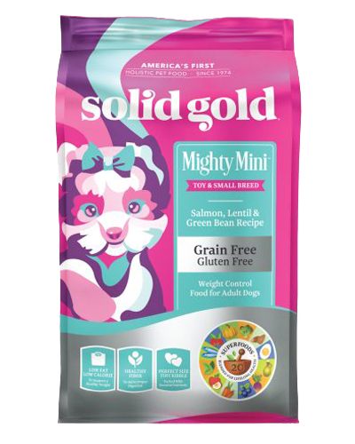 Picture of Solid Gold Grain Free Mighty Mini Weight Control - 4 lb.