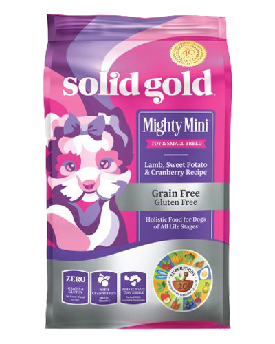 Picture of Solid Gold Grain Free Mighty Mini with Lamb - 11 lb.