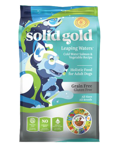Picture of Solid Gold Grain Free Leaping Waters - 4 lb.
