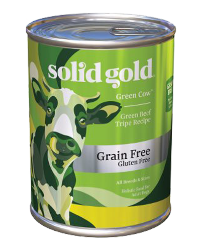 Picture of Solid Gold Grain Free Green Cow Beef Tripe - 13.2 oz.