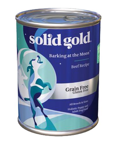 Picture of Solid Gold Grain Free Barking at the Moon with Beef - 13.2 oz.
