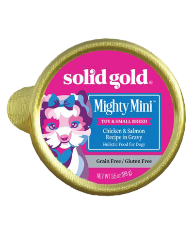 Picture of Solid Gold Grain Free Mighty Mini with Chicken & Salmon - 3.5 oz.