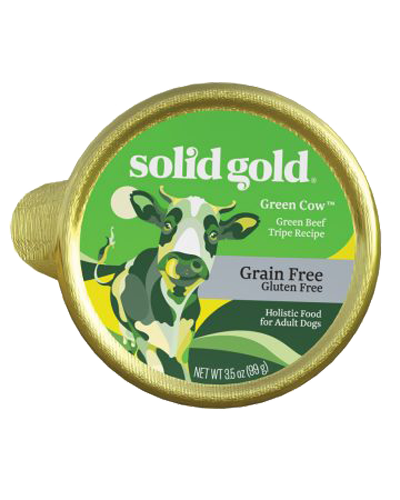 Picture of Solid Gold Grain Free Green Cow with Green Beef Tripe - 3.5 oz