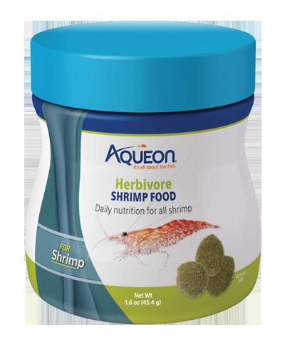 Picture of Aqueon Herbivore Shrimp Food - 1.6 oz