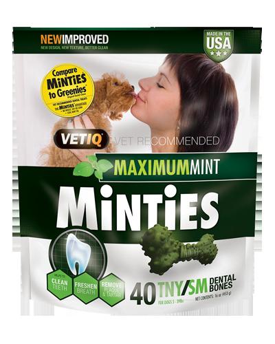 Picture of VetIQ Minties Tiny/Small Dental Bones - 16 oz.