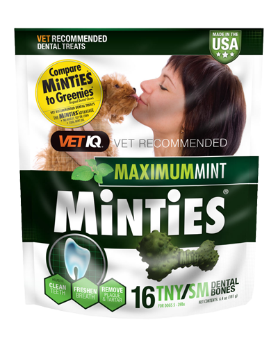 Picture of VetIQ Minties Tiny/Small Dental Bones - 6.4 oz.