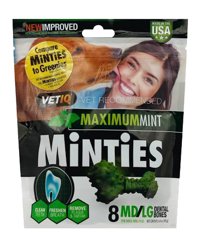 Picture of VetIQ Minties Medium/Large Dental Bones - 6.4 oz.