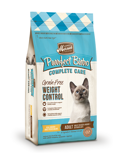Picture of Merrick Purrfect Bistro Complete Care Weight Control Recipe - 4 lb.