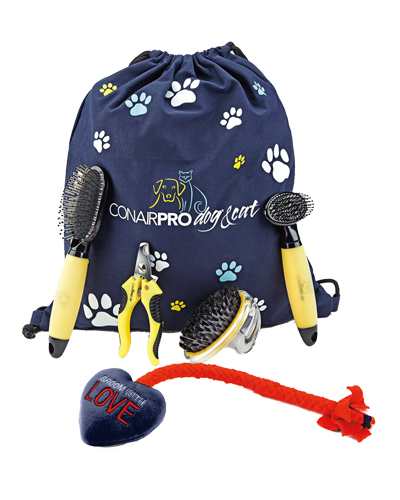 Picture of ConairPRO 5 Piece Puppy Grooming Starter Kit