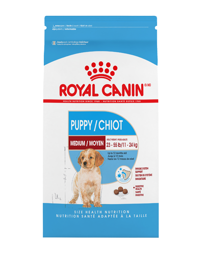 Picture of Royal Canin Medium Puppy Formula - 17 lbs